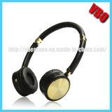 Auscultadores estereofónicos de Bluetooth com microfone
