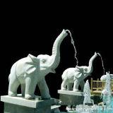 Esterno Using la fontana di acqua della pietra del granito