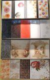 Decoração de cerâmica telhas