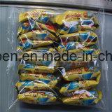 Máquina de empacotamento do pão do conjunto com alimentador