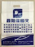 Stützblech gestempelschnittene Plastikträger-Beutel für das Geschenk fördernd (FLD-8614)