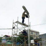 15W de Lamp van de Sensor van de Motie van de Straatlantaarns van de zonne Openlucht LEIDENE van Producten Verlichting van de Tuin met de Ingebouwde Batterij van het Lithium