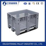 1200x1000x760mm Caja de palets de plástico para la industria