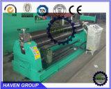 Máquina mecânica W11-8X2500 do rolo do tipo três do tipo do abrigo do rolamento e de dobra