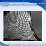 Filtro de tubo de malla de metal perforado