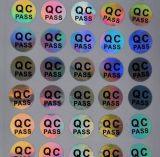 Etiquetas autoadhesivas Al por mayor-Ratail del campo común del control de calidad