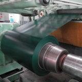 El color de PPGI 0.42m m cubierto galvanizó verde azul rojo de la bobina de acero