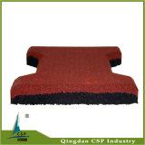 Csp Supplier Anti Slip Dog Bone Rubber Mat for Horse