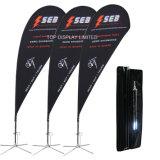 Bandiera della flessione di Frontlit del tessuto del PVC Polyster della stella di volo del vento di stampa di Digitahi del gioco di sport