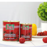 Estaño conservado marca de fábrica de la goma de tomate 400g de Safa