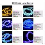 3 LED de alta tensión Cable plano de la luz de la cuerda para decoración