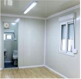 Casa prefabricada estándar del precio bajo de China del Ce como dormitorio
