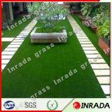 芝生のための安全で柔らかい美化の泥炭のサッカーの総合的な人工的な草