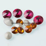 Point verso Rivoli Round Crystal Jewelry Accessories for Dresses
