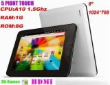 """9.7 """" 16GB Tablette PC des Android-4.0"""