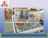 Cinta auta-adhesivo del asfalto/cinta de impermeabilización del papel de aluminio que contellea para la azotea