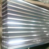 Strato d'acciaio ondulato d'acciaio galvanizzato tuffato caldo del tetto di SGCC Z80 0.18mm