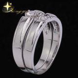 Dois anéis de noivado, Bodas de Prata anéis, uma pedra anéis de dedo