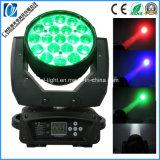 19*30W RGBW 4NO1 Mac Zoom LED Aura Lavar movendo o farol dianteiro