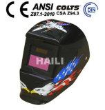 Het automatische Zonne Aangedreven Lassende Masker van de Helm/van het Lassen (wh-122)