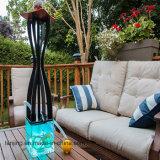 Narghilé di fumo di vetro di Shisha del tubo di acqua con il tubo flessibile del silicone