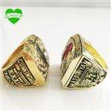 Атлант соколов кольцо 1998 чемпионата резвится ювелирные изделия для подарка
