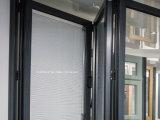 Portelli Bifold di stile di Cornerless E del patio basso francese di vetratura doppia