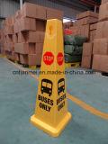 버스 정지 표시, PP 교통 안전 콘 표시만