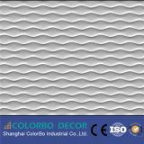 3D波のボードMDFの物質的な壁の装飾的なパネル