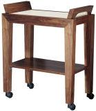 Salão de madeira maciça Carrinho de beleza com mobiliário de tabela (M17)