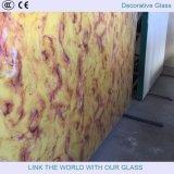 Vidrio decorativo, vidrio teñido, vidrio interior, vidrio de la pared de la TV