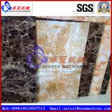 Painel de parede do falso do PVC/linha produção de mármore máquina da placa/folha