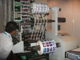 Flexo Label Printing Machine con Rotary Die Cutting