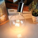 명확한 호박색 유리제 글로벌 LED 전구 G125 Dimmable LED 필라멘트 전구