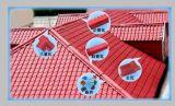 1050mm PVCおよびASAの屋根ふきシートの放出ライン