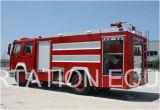 Sino Truck HOWO 6000L Tanque de água Caminhão de combate a incêndio