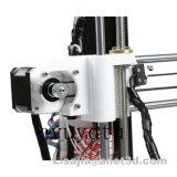 0.4mmの押出機のデスクトップ3Dプリンター、ABSおよびPLAのフィラメントを使用