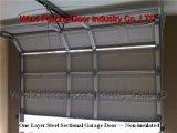 Uma camada (Non-Insulated) Porta de Garagem Seccional --- União Europeia marcação & certificadas ISO
