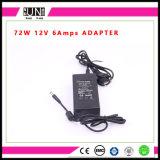 driver di 12V 6A 72W LED, adattatore dell'alimentazione elettrica dell'adattatore 72W 6AMPS LED di DC12V 72W AC/DC
