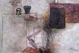 Peinture à l'huile abstraite 0110