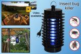 Controle do assassino de Zapper do inseto do erro da mosca do mosquito com a lâmpada do assassino do mosquito da armadilha