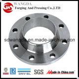 ASTM A182 F304L Wn Flansch, HF, 300 lbs, 6 Zoll, Sch 40, Schweißens-Stutzen-Flansch ANSI-B16.5
