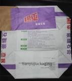 Personalizado Bolsa Cemento Válvula de papel Kraft