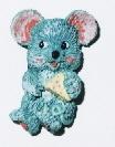 L'artisanat, cadeaux Magnent Polyresin Animal (WL7001I)