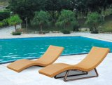 Loungers мебели Wicker Sun Loungers Brown напольные установили для пляжа