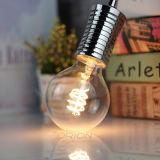 Le filament spiralé G80 4W chauffent l'ampoule flexible blanche de filament de DEL pour l'éclairage pendant