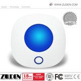 Злоумышленник WiFi дома домашней безопасности беспроводной системы охранной сигнализации GSM системы с помощью управляющего приложения
