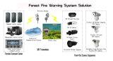 5km Wärmebildgebung und Kamera IR-HD IP-PTZ für Rand