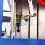 Tabela de elevador hidráulico aérea da liga de alumínio do mastro dobro
