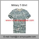 Camicia dell'Camicia-Esercito del camuffamento T--Maglietta Camicia-Militare dell'Camicia-Esercito della polizia T